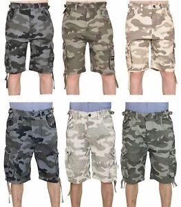 Jack /& Jones Uomo Cargo Shorts Bermuda Cargo Pant Pantaloni 3//4 Pantaloni da uomo