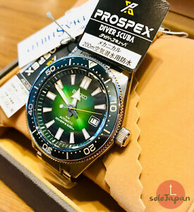 SEIKO-SBDC077-Green-Prospex-62mas-Special-Edition-Brand-new-amp-Made-in-JAPAN
