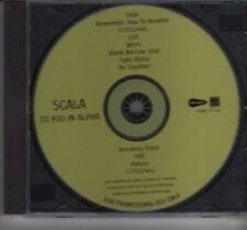 (DE767) Scala, To You In Alpha - DJ CD