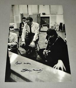 Sir-George-Martin-SIGNED-12x8-Photo-The-Beatles-Autograph-Music-Memorabilia-COA