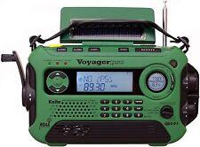 NEW KAITO KA600 DIGITAL VOYAGER PRO CRANK RADIO SOLAR AM FM SW WEATHER BAND NOAA