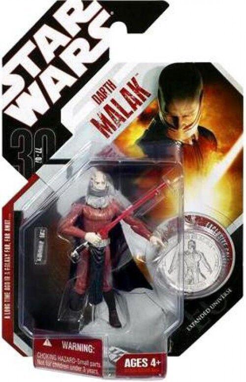 Star Wars 30th Anniversary 2007 Wave 5 Darth Malak Action Figure