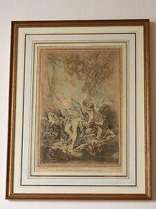 Gravure XVIII ème- d'Après Boucher- Par Demarteau l'Aîné (1) vYK5x3Uo-07215422-915821816