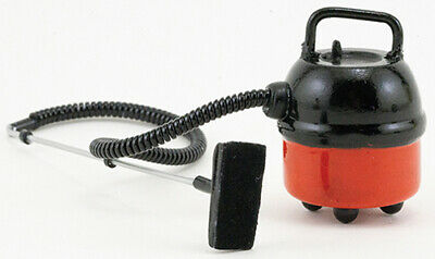 Red #IM65652 Dollhouse Miniatures 1:12 Scale Portable Work Shop Vacuum Cleaner