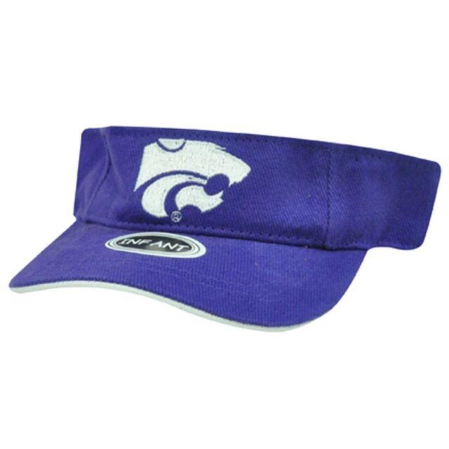 best sneakers 0e914 361ca NCAA INFANT VISOR HAT CAP KANSAS STATE WILDCATS PURPLE