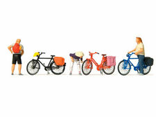 Preiser 17161 H0 Fahrräder Neu 4 Stück Fahrrad