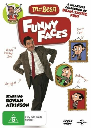 1 of 1 - Mr. Bean - Funny Faces (DVD) Region 4 Very Good Condition
