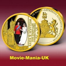 The Royal Wedding, Gold Plated Commemorative Strike, 2011 PROOF