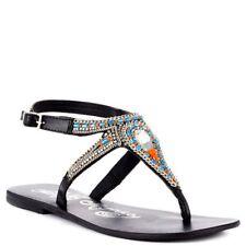 84553bdcae4946 item 4 Naughty Monkey Night Gem Womens Thong Sandal Black Size 7.5 -Naughty  Monkey Night Gem Womens Thong Sandal Black Size 7.5