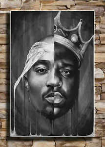 14x21 24x36 Poster The Notorious 2pac Tupac Rapper 245