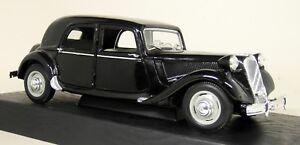 Maisto-1-18-Scale-31821-Citroen-15CV-6-Cyl-1952-Black-Diecast-Model-Car
