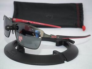 OAKLEY FERRARI POLARIZED TINFOIL CARBON FIBER SUNGLASSES ...