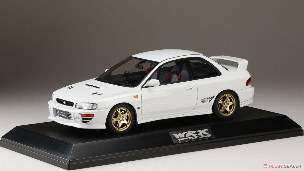 compra limitada Hobby Japón Subaru Impreza Impreza Impreza WRX 1 18 Tipo R Sti 1997 GC8 blancoo Diecast HJ1812EW  barato y de alta calidad
