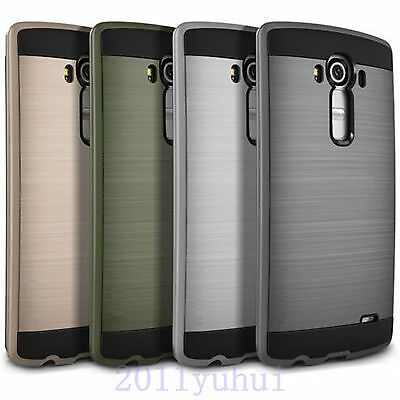 New For LG G4 G5 Hard PC & Soft TPU Hybrid Anti-Shock Protector Case Cover