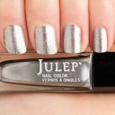 NEW! Julep polish MISSY Nail Vernis 0.27 Fl. Oz.  ~ Metallic/Chrome Titanium
