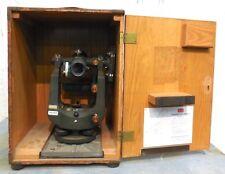 Keuffel Amp Esser Co Kampe Paragon Jig Transit 9092 1a Missing Eyepiece Wood Box
