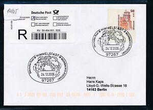 10105) Reco-lettre Ef 2,61 € Do. - Nom. Bg-coin Sst 2006 Ciel Ville De Noël-pa-afficher Le Titre D'origine Emballage De Marque NomméE