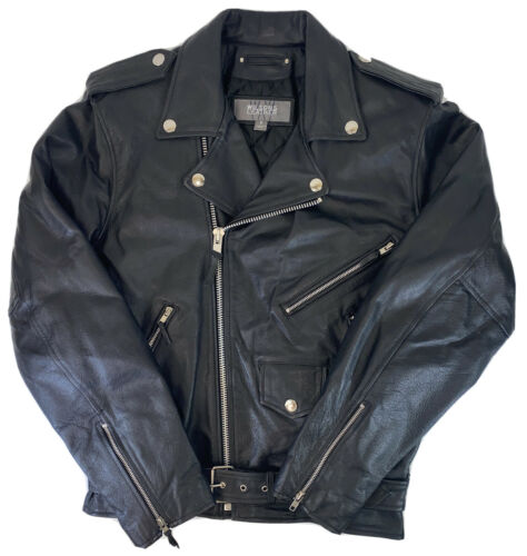 Wilson's Classic Style Black Genuine Leather Motor