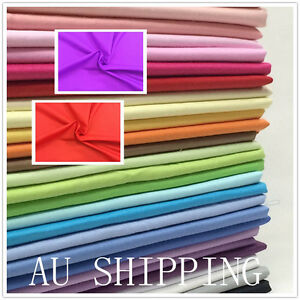 NEW-Poly-Cotton-N-Dressmaking-Quilting-Fabric-Material-Patchwork