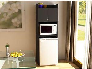 Image Is Loading Mini Fridge Storage Cabinet Microwave  Refrigerator Kitchen Space  Part 27