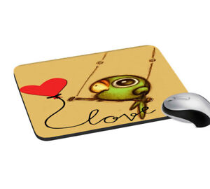 Love-Bird-Digitally-Printed-Mouse-Pad-Rectangular-Mouse-Pad-Non-Slip-Mouse-Pad