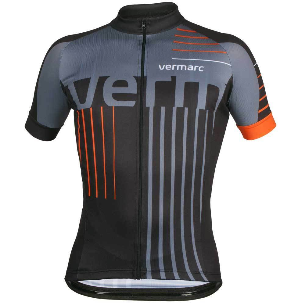 Vermarc Scala Scala Vermarc Short Sleeve cycling Jersey Gelb Orange S-XXXL 5e0eed