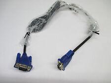 10x SVGA VGA 15 PIN MASCHIO A MASCHIO MONITOR PC TV Proiettore LCD CRT TFT Cavo Piombo