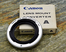 Canon Lens Mount Converter A L39 Rangefinder lens to Canon FL/FD Adapter (#850)