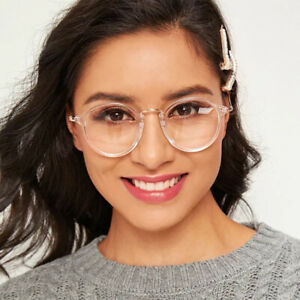 New-Designer-Woman-Retro-Look-Round-Glasses-Anti-Blue-Light-Filter-Optical-Frame