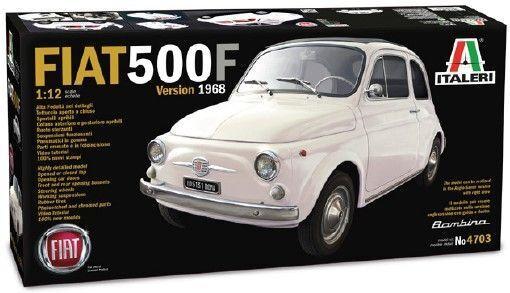 Fiat 500F 1968 Plastic Kit 1 12 Model 4703 ITALERI