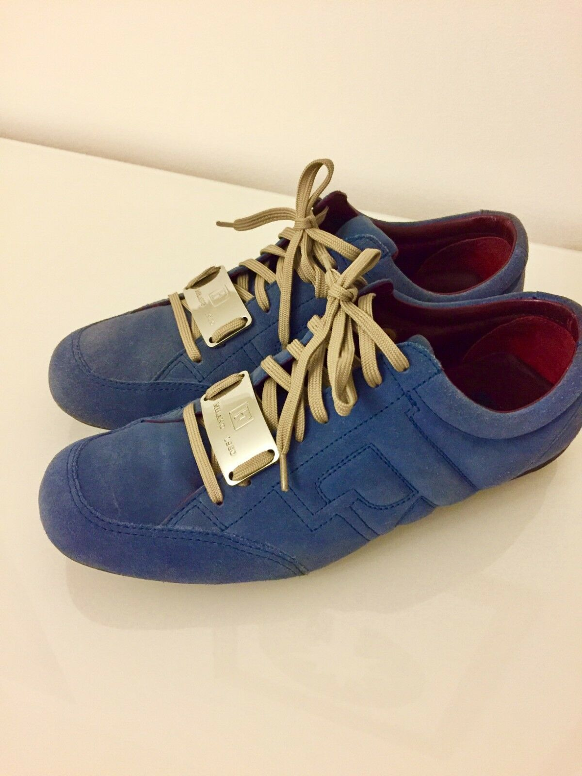 1a51c4ad6 GF Ferre Men Suede bluee shoes US 11 Sneakers nznnck9174-Athletic Shoes