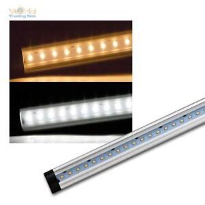 Details zu SMD LED Lichtleiste CT-FL sehr flach Aluminium Unterbauleuchte  fü Küchen & Möbel