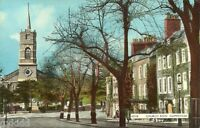 VIEW OF CHURCH ROW, HAMPSTEAD, LONDON.