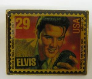 Iconic Elvis Announcer Dead At 81 Presley Commemorative 29 Cent US Postage Stamp The Concert Who Made Famous Phrase