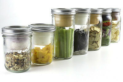 USA made Cuppow BNTO Lid Wide Mouth Mason Jar Lunchbox Adapter or Chip & DIp top