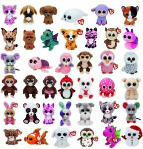 8e7d80af4b8 Ty Beanie Boo Boos - Choose Your Favourite Soft plush Character 18 ...