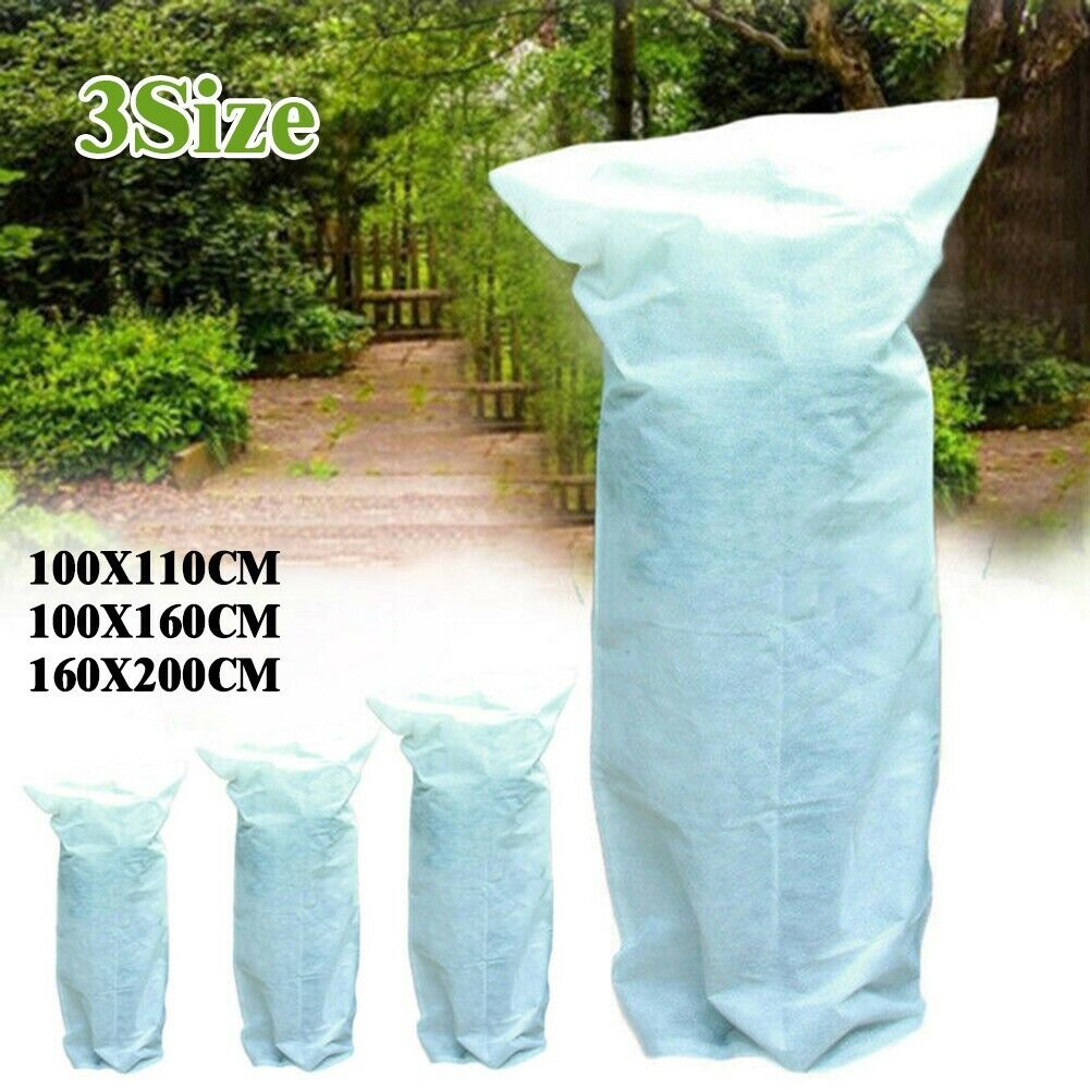 Green Warm Plants Covers Tree Shrub Frost-Protection Bags Yard Garden Wind-Proof