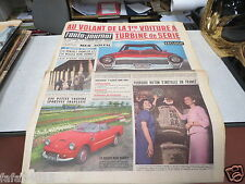 L AUTO JOURNAL N° 324 - 1963 - LA MISSILE - CHRYSLER *