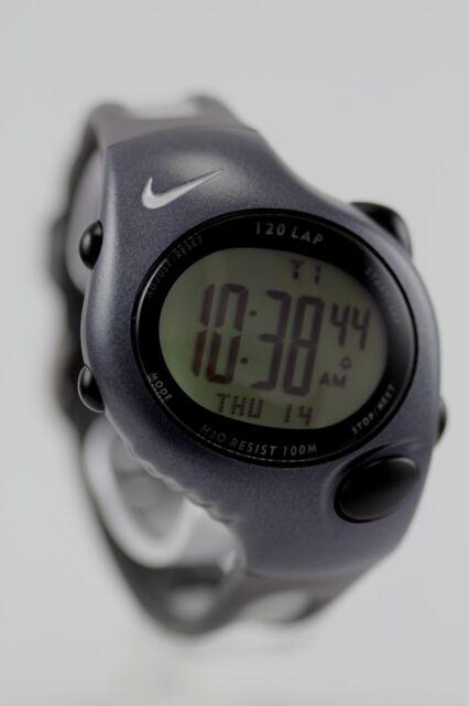 Nouvelles Arrivées 94f6b f8855 Nike Triax Sports Watch Black 120 Lap Wg40-0010
