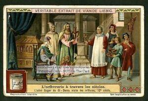 1100s-Goldsmith-Europe-Orfevres-1910-Chromo-Trade-Ad-Card