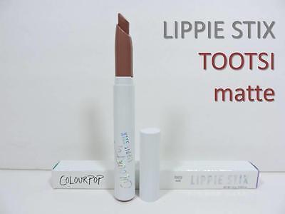 COLOURPOP Lippie Stix 'TOOTSI' Matte Lipstick Nudes Grey-Beige New 1.0g Full