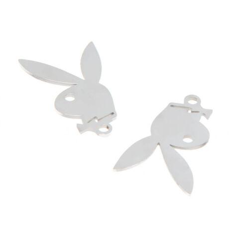 5pcs//lot upside down rabbit Symbol charm upside down rabbit pendant 27x17mm