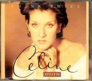 Celine-Dion-Think-Twice-4-Tracks-Cd-Ottimo