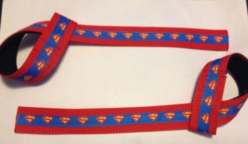 Superhero Inspired Adjustable Weight Lifting Straps