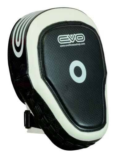 EVO Fitness Curved Boxing Focus Pads MMA Muay Thai Martial Arts Training Pads