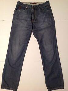 Trussardi Mens Jeans Light Wash 32x29  eBay
