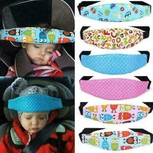 Kinder-Baby-Autositz-Sicherheit-Kopfstuetze-Kissen-Nickerchen-Rest-Kopfstuetz-C7W6
