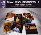 7 Classic Albums Vol. 2 Dinah Washington CD BOXSET 4 Discs