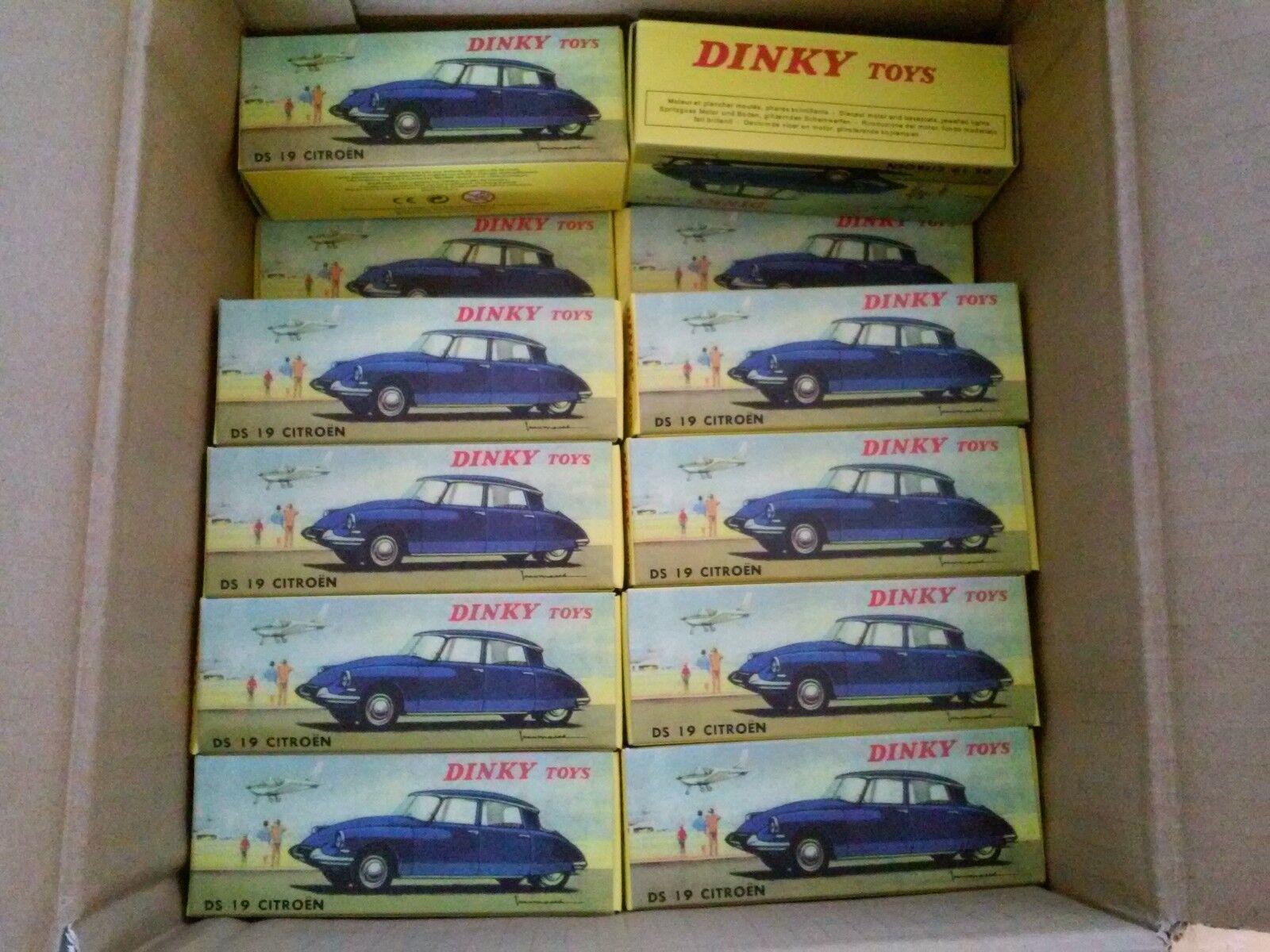 Lotes de 48 Dinky Juguetes Citroën DS 19-Diecast Modelo Coche-Norev Atlas 530