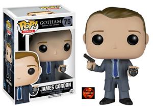 New in Box Funko Pop Vinyl Figure 75 Batman Gotham Legend James Gordon